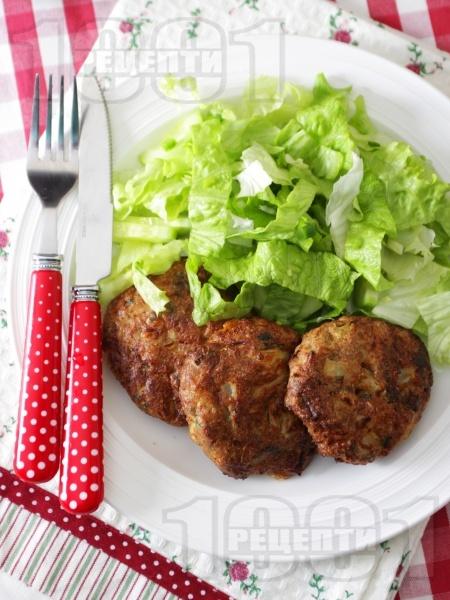 Пържени кюфтета от карфиол без мазнина - снимка на рецептата